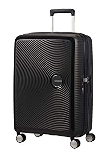 AMERICAN TOURISTER Soundbox - Spinner M Espandibile Bagaglio a Mano, Spinner M (67 cm - 81 L), Nero (Bass Black) (B06Y3M3FKR) | Amazon price tracker / tracking, Amazon price history charts, Amazon price watches, Amazon price drop alerts