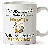Mugffins Tazza Gatto (Gattino) - Idee Regali Originali Amante Animali Domestici