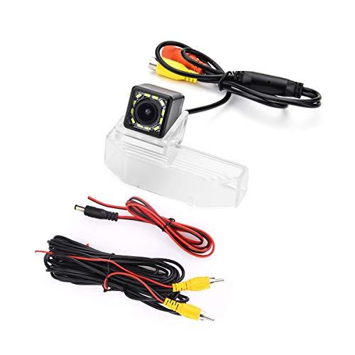 eHANGO - Supporto per telecamera posteriore per auto, per Mazda 6 M6 GH Mazda6 Ruiyi Mazda RX-8 (12 LED)