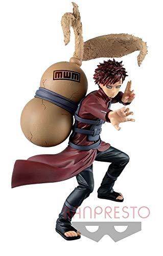 Banpresto. Naruto Shippuuden Figure Gaara Vibration Stars Naruto Sasuke Kakashi