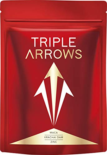 [公式]TRIPLE ARROWS 栄養機能食品 マカ21,000mg クラチャイダム4,800mg 亜鉛酵母4,200mg 厳選成分11種 30日分 (日本製)