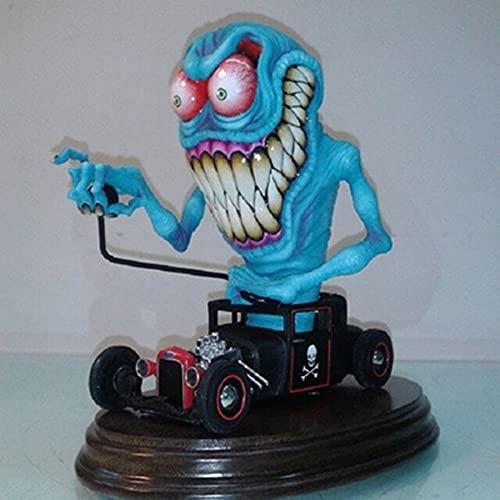 Estatua de Monstruo de Boca Grande Enojado, Monstruo Alienígena, Accesorios, Decoración de Halloween de Monstruo Aterrador, Adorno de Decoración del Hogar de Escultura (Big Mouth Monster)