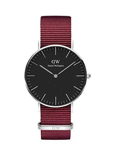 Daniel Wellington Unisex volwassen analoog kwarts horloge met stof armband DW00100274