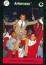 Track Coach John McDonnell Trading Card (Arkansas) 1991 Collegiate Collection #8