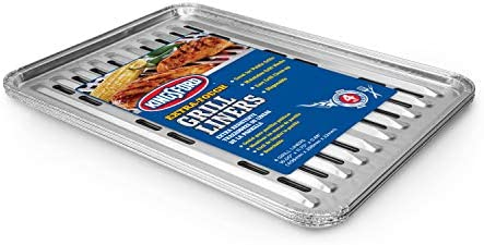 Kingsford Extra Tough Aluminum Grill Liners Heavy Duty Grill Liners Disposable Grilling Liners product image