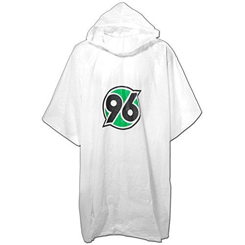 Hannover 96 Regenponcho, Regencape, Regenmantel Logo H96 - Plus Lesezeichen I Love Hannover