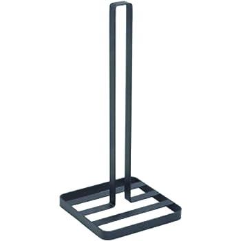 35 cm Schwarz Home Gadgets K/üchenrollenhalter