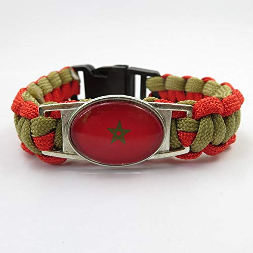 Minyose Marokko Armband Liebe Marokko Land Armband & Armreifen Mann Und Frau Handgemachte Seil Armbänder Marokko Armreifen