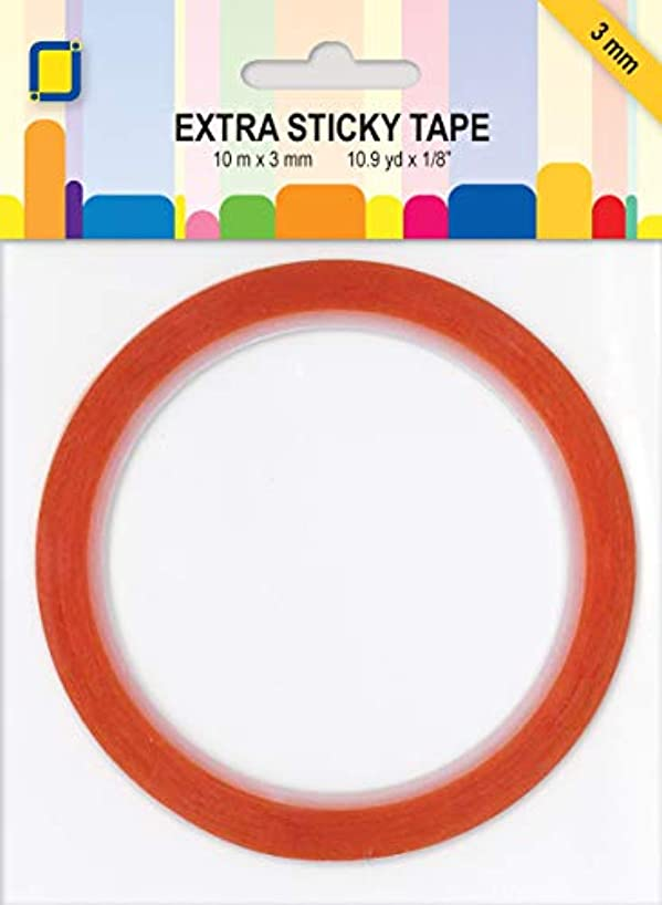 Personal Impressions Extra Sticky Double Sided Tape 3mm, Multicolour
