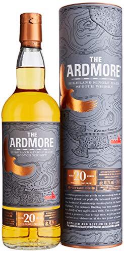 The Ardmore 20 Jahre Single Malt Scotch Whisky mit Geschenkverpackung (1 x 0.7 l)