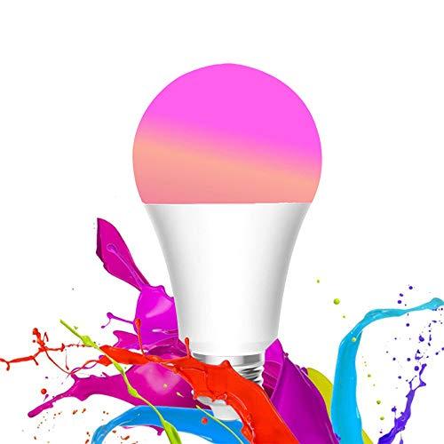 WANFEI Bombilla WiFi E27, 10W LED Bombilla Inteligente 950lm 16...