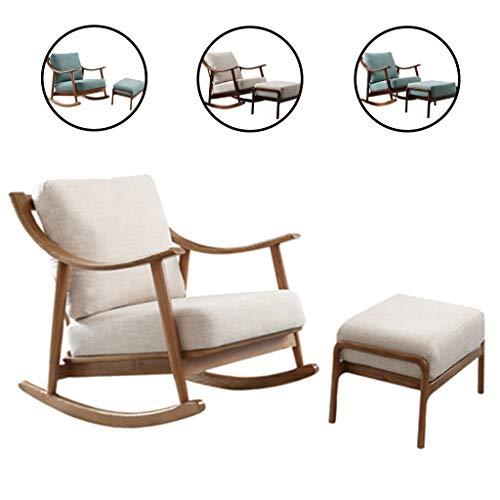 Stoelen massief houten schommelstoel sofa kleine woning start balkon vrije tijd lui lounge Xiaoyao meubels computer bureau meubilair