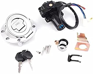Paddsun Ignition Switch Gas Cap Cover Seat Lock Key Set For Yamaha YZF R1 R6 2001-2012