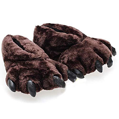 pantofole uomo orso XHBYG Pantofole di Peluche dei Cartoni Animati