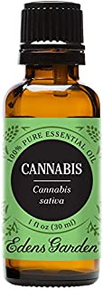 Edens Garden Cannabis Essential Oil, 100% Pure Therapeutic Grade (Highest Quality Aromatherapy Oils- Inflammation & Pain), 30 ml