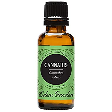 Edens Garden Cannabis Essential Oil, 100% Pure Therapeutic Grade (Undiluted Natural/ Homeopathic Aromatherapy Scented…