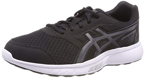 Asics Stormer 2, Zapatillas de Running para Hombre, Negro (Black/Carbon/White 9097), 40.5 EU