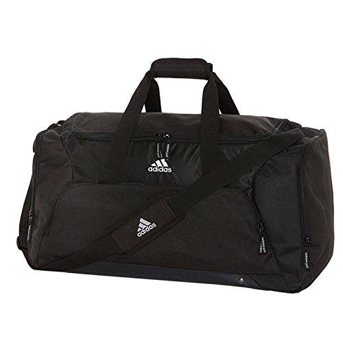 Adidas - Bolsa deportiva de viaje (Talla Única/Negro)