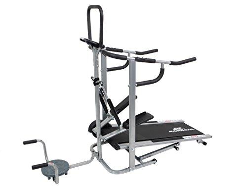 Kamachi 4 in 1 Manual Multipurpose Treadmill