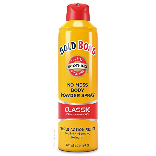 Gold Bond No Mess Spray Powder Classic, 7 Ounce