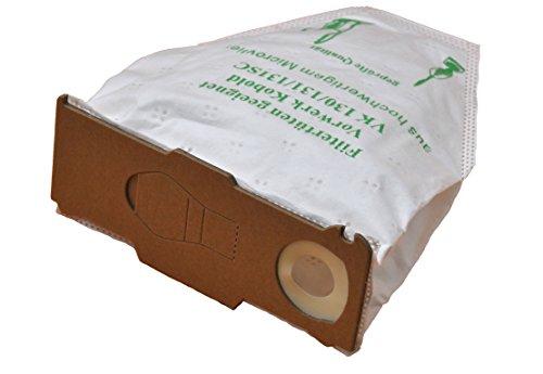 18 Staubsaugerbeutel aus Vlies passend für Vorwerk - Kobold 130/131 / 131SC / VK130 / VK131 FSprodukte