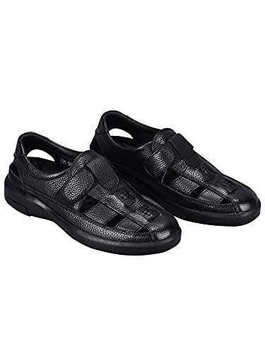 [ネルロッソ] 靴 メンズ シューズ スニーカー スリッポン サンダル メンズ 大きいサイズ オフィス カジュアル 軽量 正規品 26.5cm(43) ブラック cmv24179-43-bl