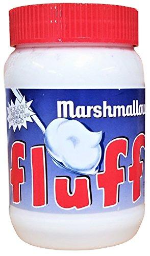 Fluff Marshmallow Vanille, Schaumzuckercreme mit Vanillegeschmack, 1er Pack (1 x 213 g)