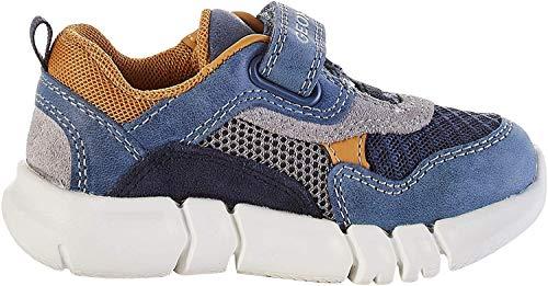 Geox Baby Jungen B FLEXYPER Boy A Sneaker, Blau (Dk Blue/Navy C4mf4), 26 EU