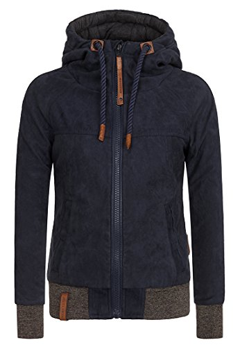 Damen Jacke Naketano Chief, Eine Aktive II Jacke, Blau (Dark Blue), Gr. XS
