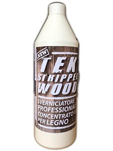 Tek Stripped Wood - Gel decapador profesional para madera