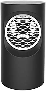 RUNNA Soplador de Aire Mini Oficina de Escritorio del hogar del Calentador del Calentador del radiador eléctrica Caliente (Color : Black)