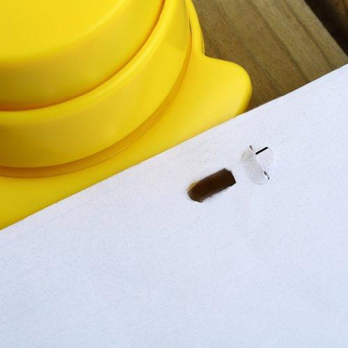 TOOGOO(R) 3pcs Free Stapler Paper Binding Binder Office Student Stationery