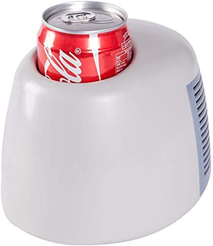 ZHIRCEKE Mini Frigo USB Silent Frigorn para Bebidas Calientes y frías Pequeñas con características de enfriamiento rápido y calefacción, se Pueden Usar para computadora, energía móvil