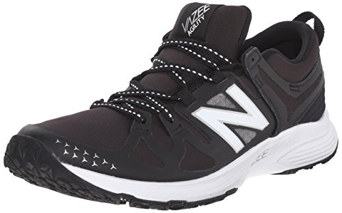New Balance Women's Vazee Agility V1 Cross Trainer, Black/White, 7 B US
