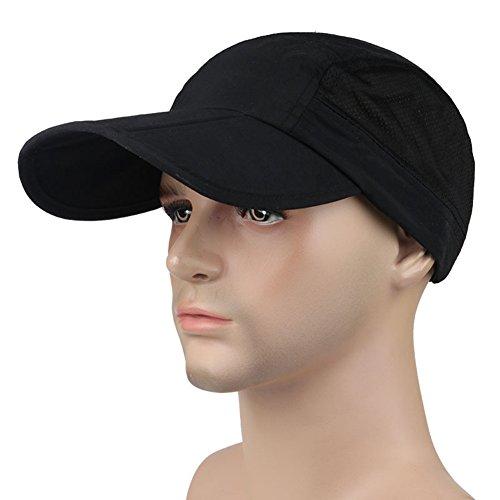Gorra de béisbol para hombre gorra visera Large borde...