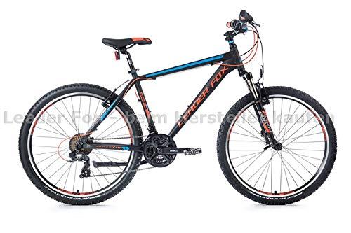 Leader Fox Fahrrad Mountainbike Hardtail Bergsteiger Jungendfahrradrad Kinderfahrrad 26 Zoll Jugend Kinder Bike 21 Gang