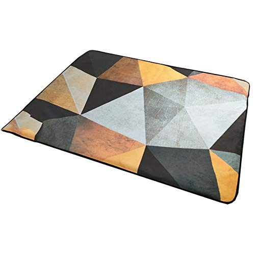 SUWEN Unterteppichheizung,Abnehmbares und waschbares Wildleder-Design, Graphen erwärmt Sich gleichmäßig ohne zu trocknen, mit Fernbedienung