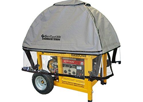 GenTent 20k Generator Tent Running Cover -...