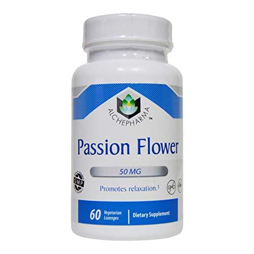 AlchePharma Passion Flower Lozenge. 60 Lozenges