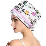 Gorro para vaporizador de cabello, 3 engranajes eléctricos para el cuidado del cabello, gorro de vap...