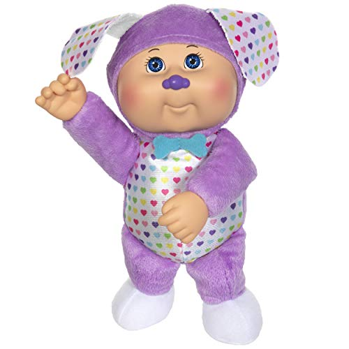 Cabbage Patch Kids Cuties Collection, Rainbow Garden Party Collection Baby Dolls (Sadie Puppy #131)
