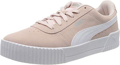 PUMA Carina, Sneakers Donna, Rosa (Rosewater White Silver), 37.5 EU