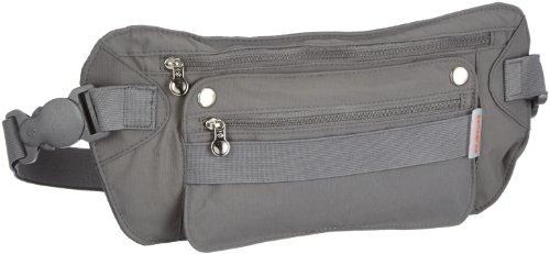 Samsonite Porte-Monnaie Travel Accessor. V Kangaroo Waist Money Belt 0.01 Liters Noir (Graphite) 45545