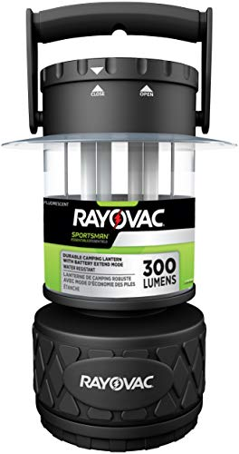 Rayovac Sportsman LED Camping Lantern Flashlight 300 Lumens Battery Powered LED Lanterns for Hurricane Supplies Survival Kit Camping Accessories
