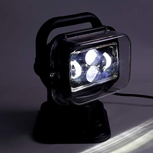 Luz de búsqueda LED ABS, foco LED, camión para coche, barco