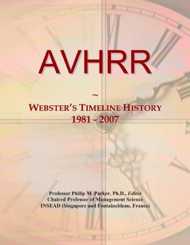 AVHRR: Webster's Timeline History, 1981 - 2007