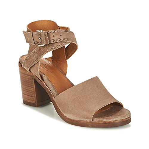 SHABBIES SHS0180 HIGH REVERSED Sandalen/Open schoenen dames Taupe Sandalen/Open schoenen