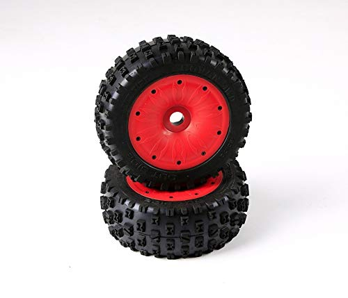Read About Part & Accessories 1/5 LT truck LOSI spare parts Gen.3 knobby tyres set 970432 with insid...
