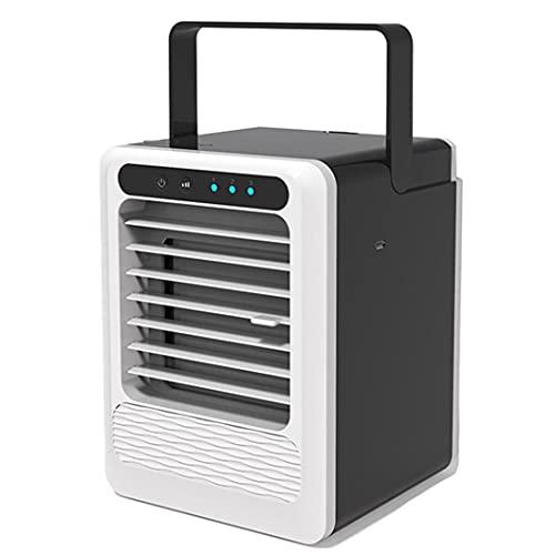 WLSPB Ventilador de Aire Acondicionado portátil, 3 en 1 Enfriador de Aire de Espacio Personal, humidificador, purificador de Escritorio refrigerante Ventilador de Mesa per