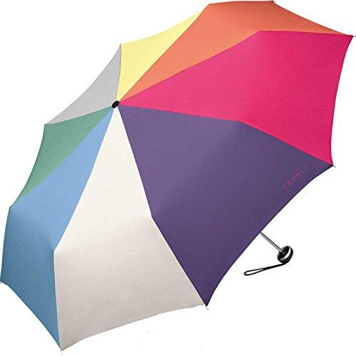 ESPRIT Regenschirm Mini Alu Light multicolor combination (Mehrfarbig)